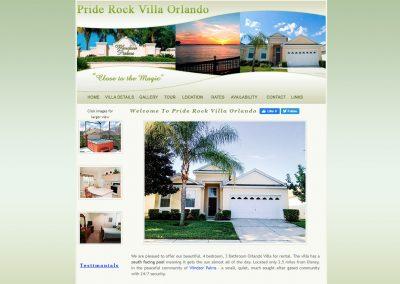 Priderock Orlando Villa