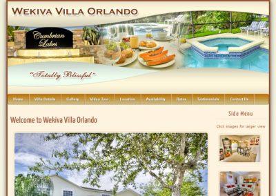 Wekiva Villa Orlando